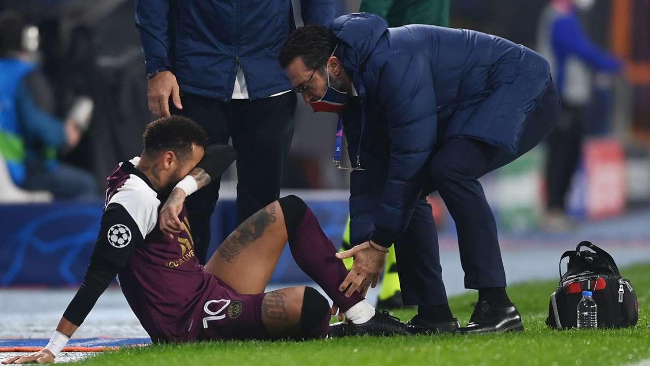 Neymar, Basaksehir vs PSG, Champions League 2020-21 injury