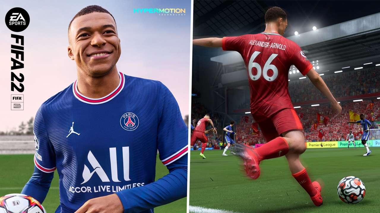 FIFA 22 Mbappe Alexander-Arnold Composite