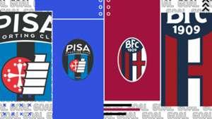 Pisa-Bologna tv streaming