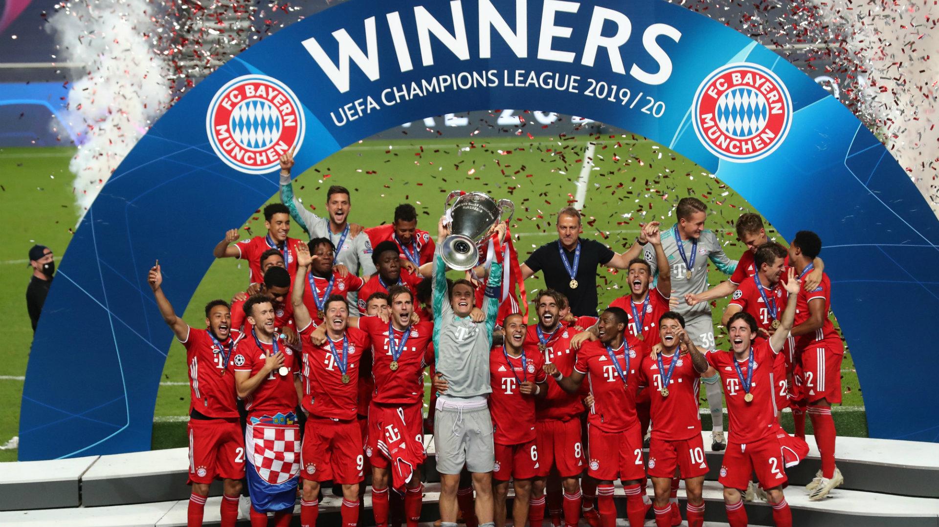 A perfect 11! Flawless Bayern set new Champions League ...