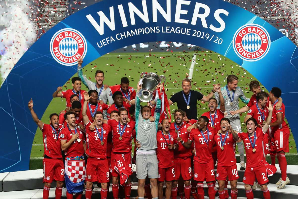 A Perfect 11 Flawless Bayern Set New Champions League Record With Psg Victory Goal Com