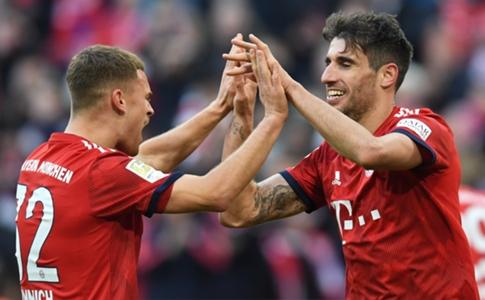 FC Bayern München: Javi Martinez adelt Teamkollege Joshua Kimmich | Goal.com