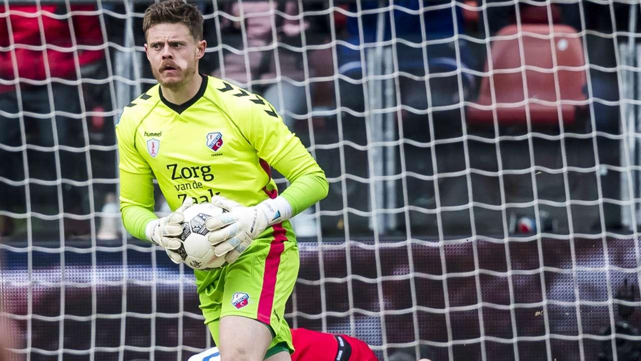 David Jensen, FC Utrecht, Eredivisie 01282018