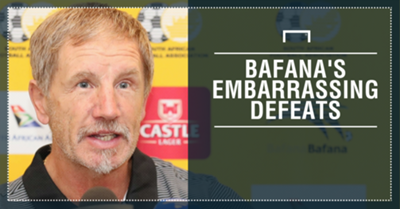 Bafana embarrassing defeats