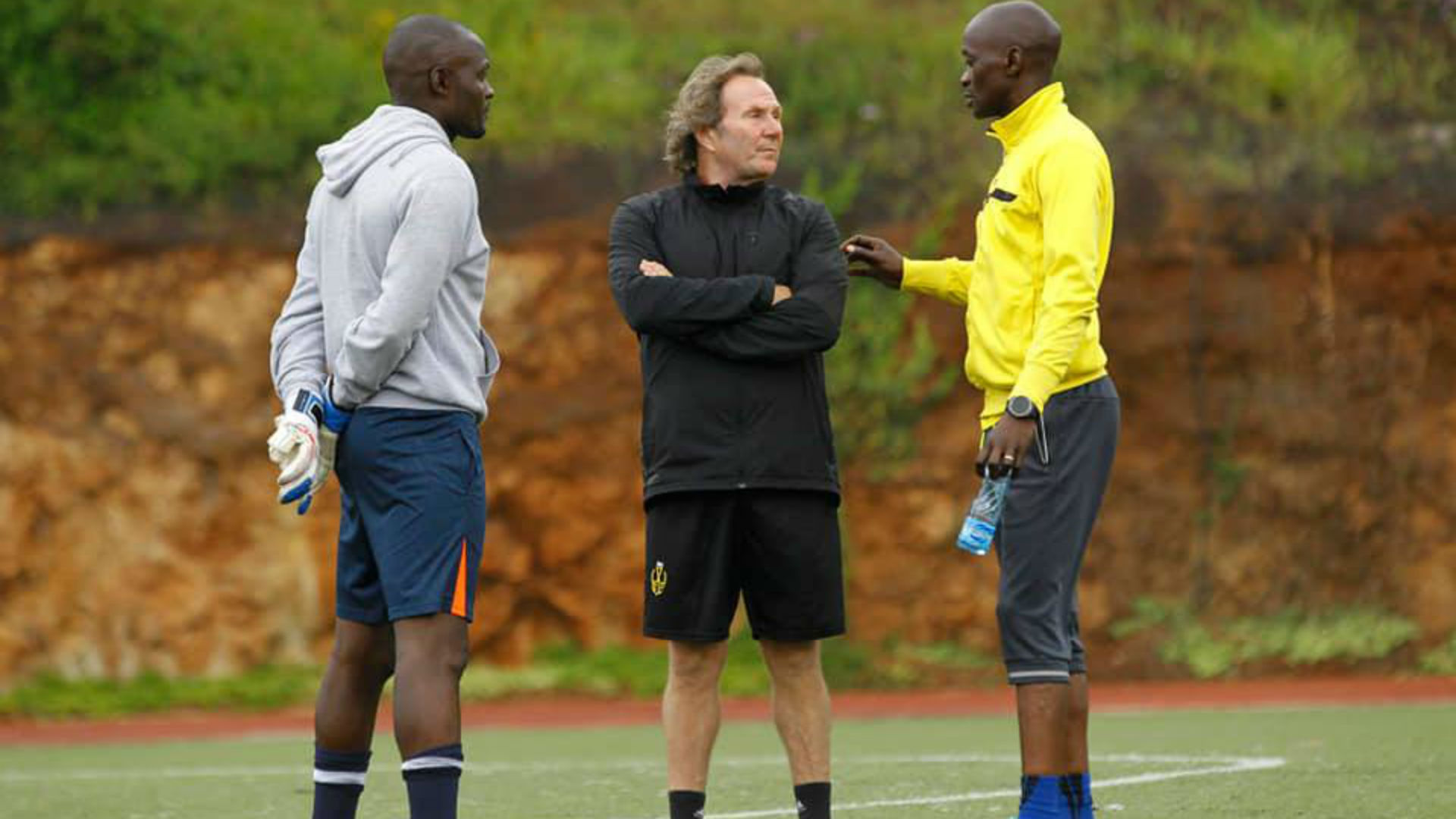 Why Stewart Hall is not happy with Wazito FC players ahead of Zoo ...