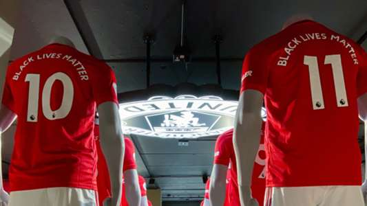 Manchester United To Donate Black Lives Matter Shirt Printing Proceeds To Kick It Out Goal Com