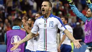 Leonardo Bonucci Belgium Italy Euro 2016