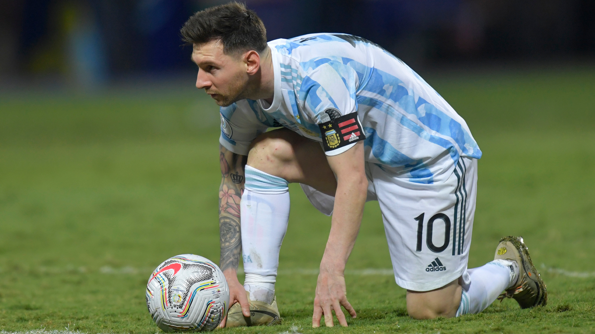 Messi dazzles for Argentina with stunning Copa America quarter-final free kick against Ecuador