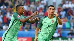 Cristiano Ronaldo Nani Portugal Hungary