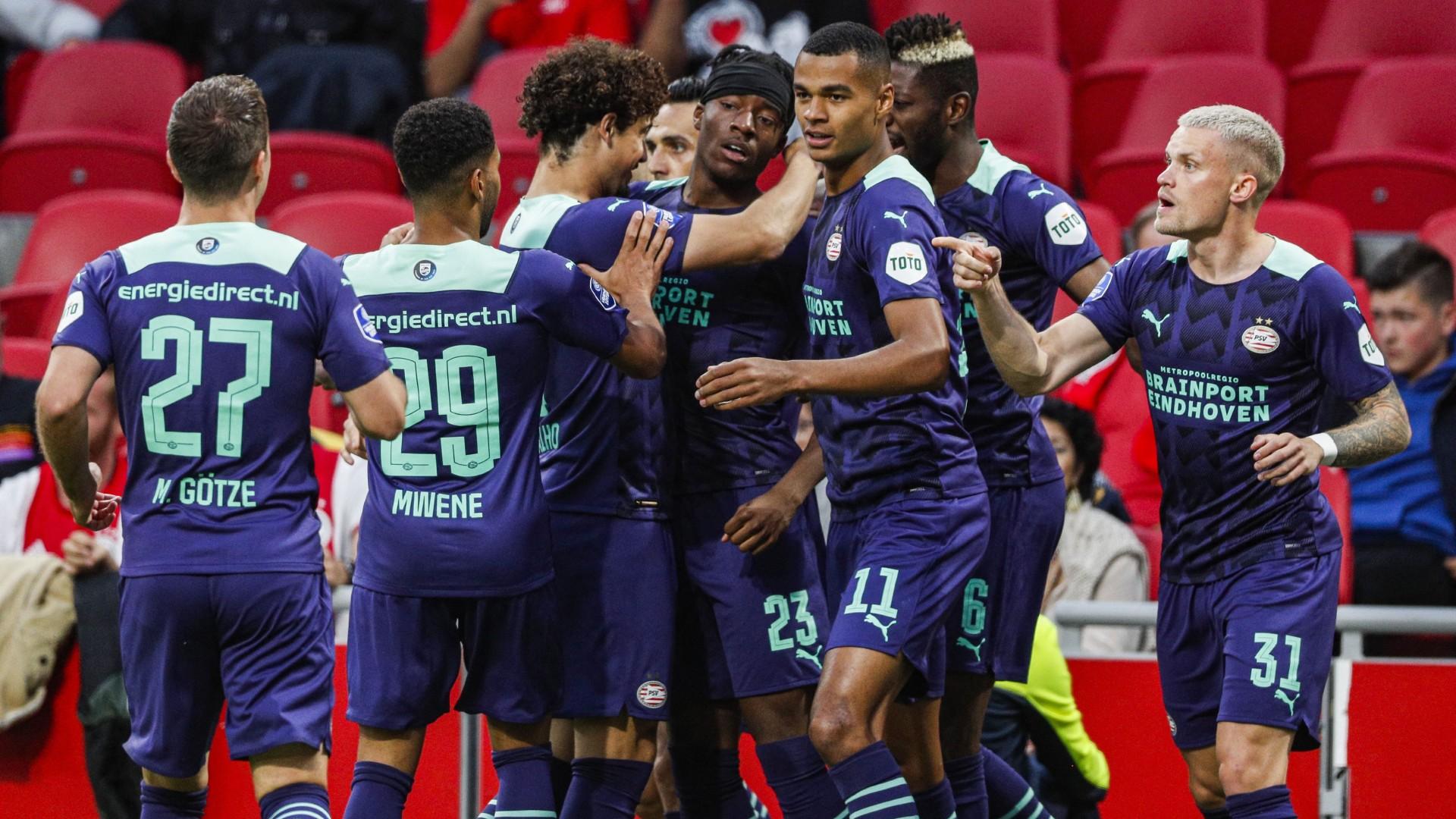 Madueke: Nigeria prospect's brace powers PSV past 10-man Ajax in Dutch Super Cup