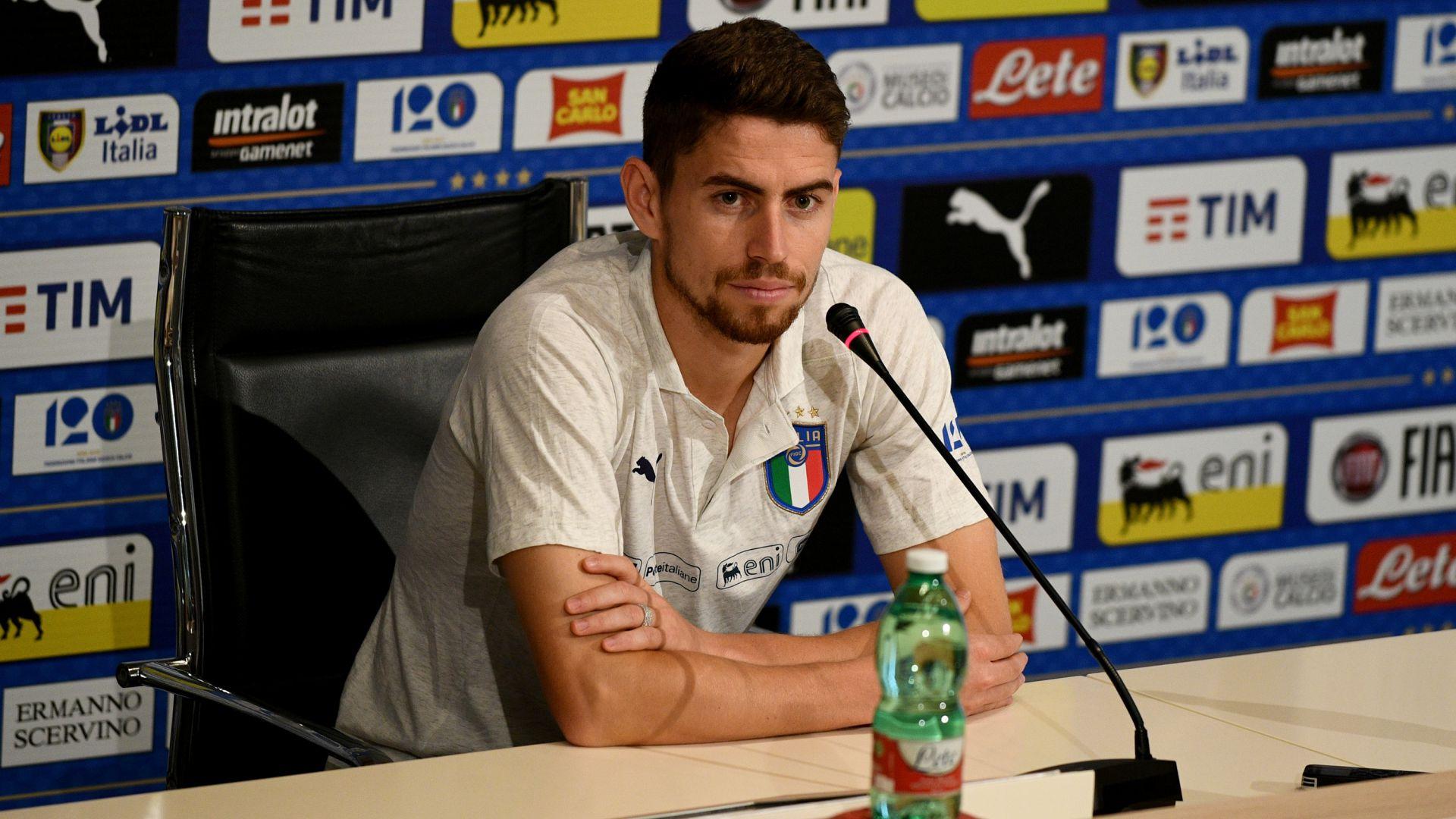 Jorginho Italy NT press conference 05092018