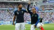 Antoine Griezmann Olivier Giroud France Argentina World Cup 30062018