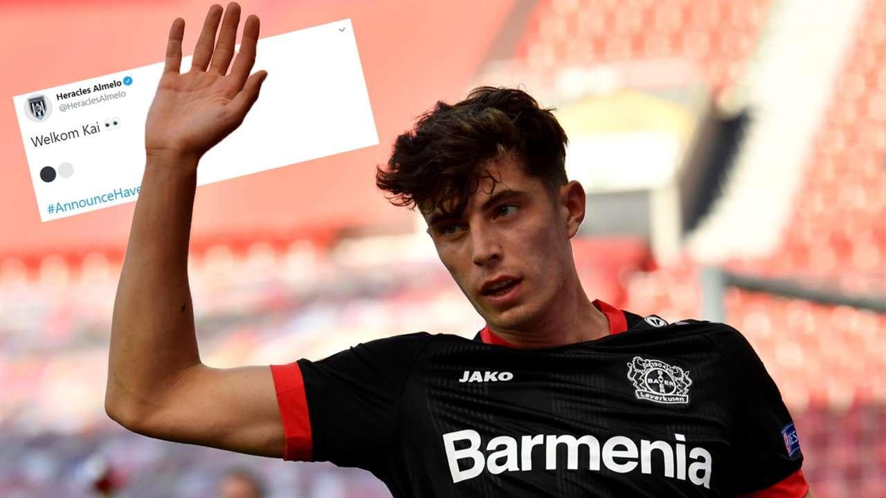 Kai Havertz Heracles Bayer Leverkusen