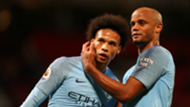 Kompany Sane Manchester City