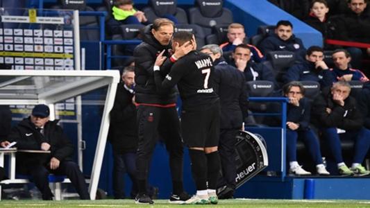 PSG-Montpellier: Feo rifirrafe Mbappé-Tuchel en la vuelta de Cavani (5-0) | Goal.com