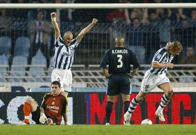 Real madrid Real Sociedad 2004