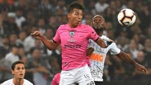 Vagner Love Alan Franco Corinthians Independiente del Valle Copa Sudamericana 18092019