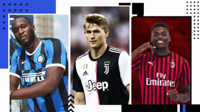 GFX Serie A Transfer 2019/20 - Lukaku De Ligt Rafael