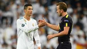 Cristiano Ronaldo, Harry Kane, Real Madrid v Tottenham