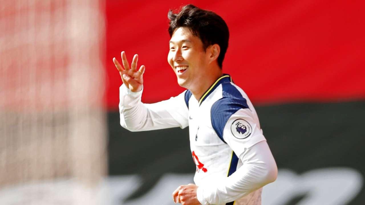 Heung-min Son Spurs Southampton 2020