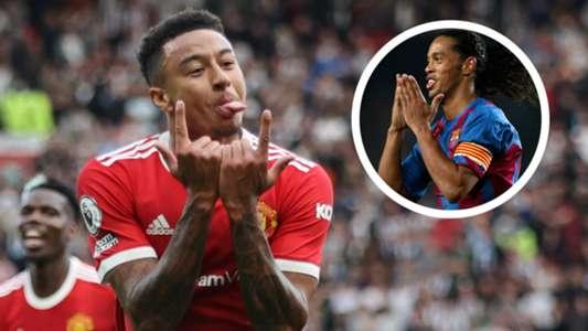 Lingard picks ex-Barcelona stars Ronaldinho & Iniesta as dream team-mates and airs Ronaldo wish