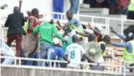 Gor Mahia v AFC Leopards fans
