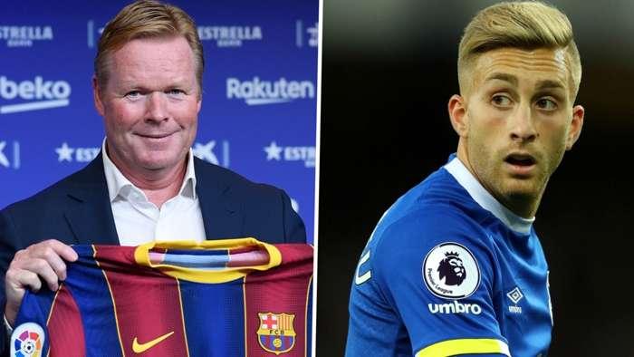 Ronald Koeman Barcelona Gerard Deulofeu Everton