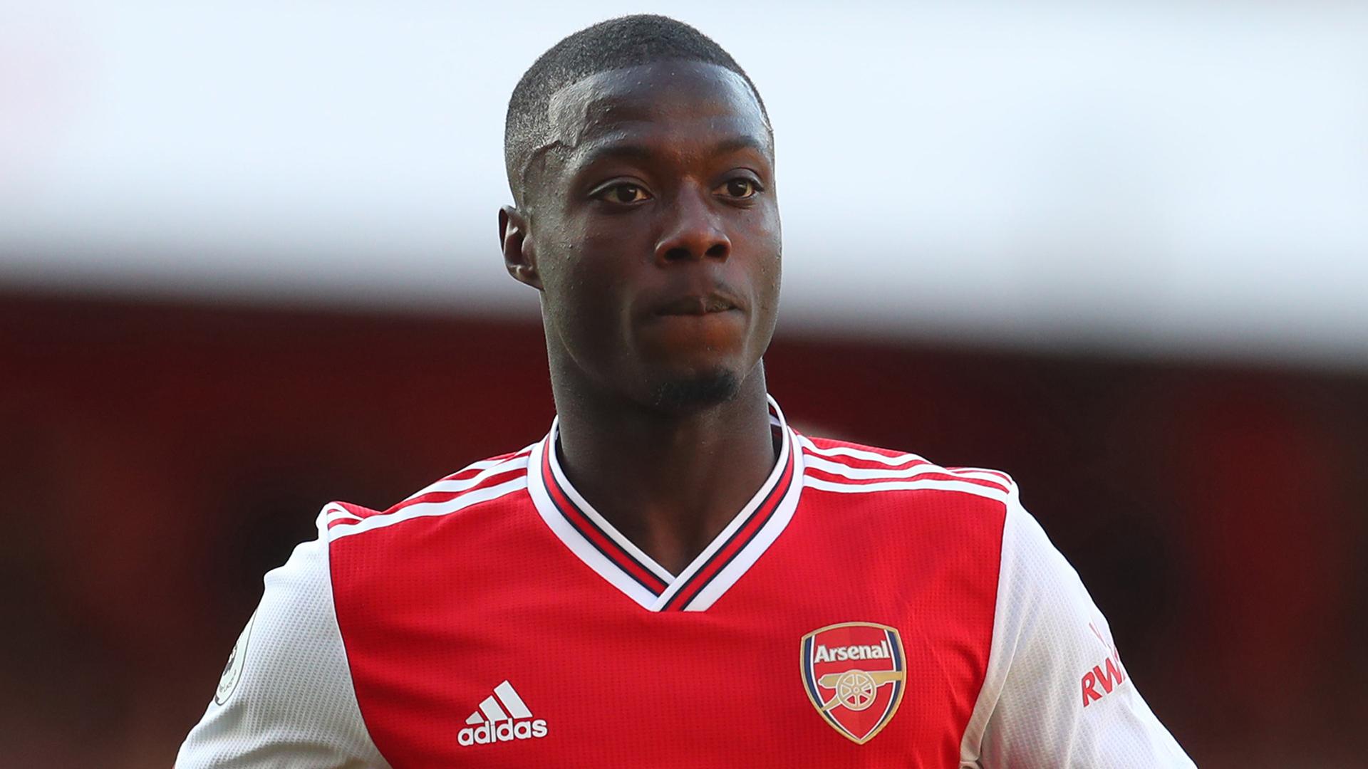 Arsenal boss Unai Emery reassures Nicolas Pepe over £72m transfer fee criticism