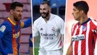 Messi Benzema Suarez GFX