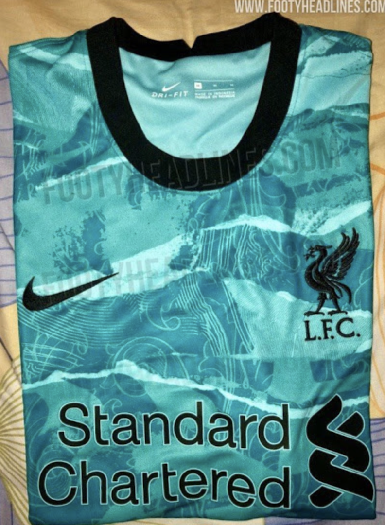 Découvrez le maillot extérieur de Liverpool pour la saison 2020-2021