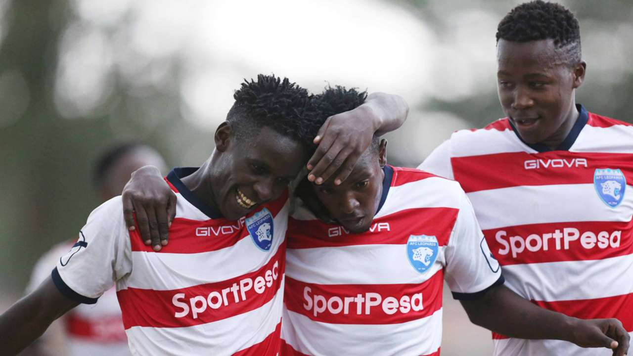 AFC Leopards celebrate