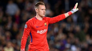 Marc-Andre Ter Stegen Roma Barcelona UEFA Champions League