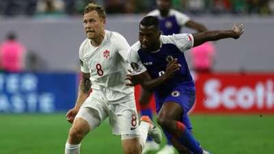 Scott Arfield Jems Geffrard Canada Haiti Gold Cup 2019