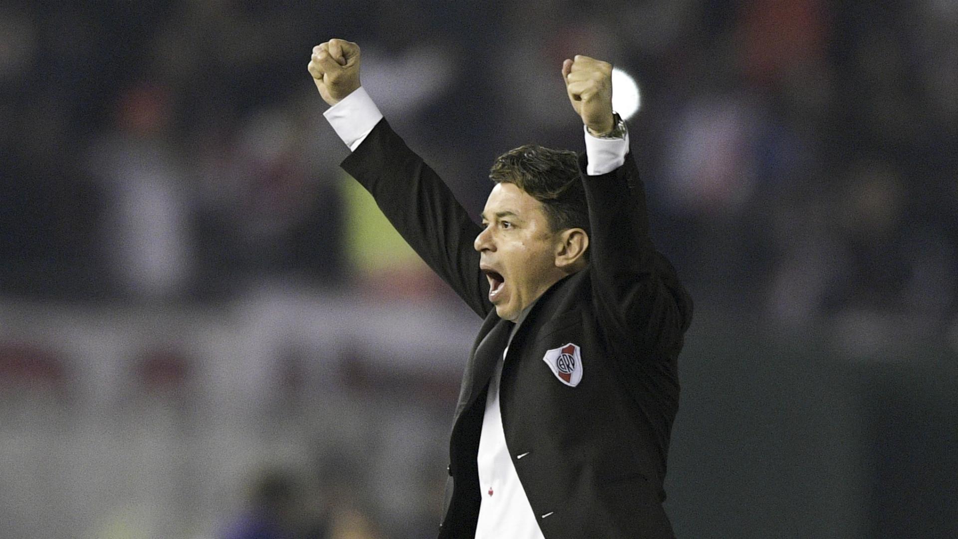 Marcelo Gallardo River Cerro Porteno Copa Libertadores 22082019