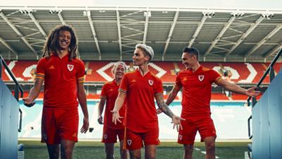 Wales Euro 2020 home kitq