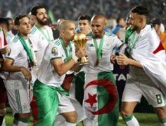 Sofiane Feghouli Yacine Nasr Brahimi Mohamed Belaili Algeria Afcon troph