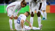 Benzema blessure France Bulgarie