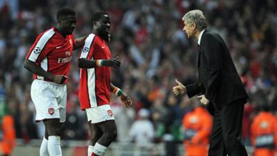 Arsene Wenger Arsenal Villarreal 2009