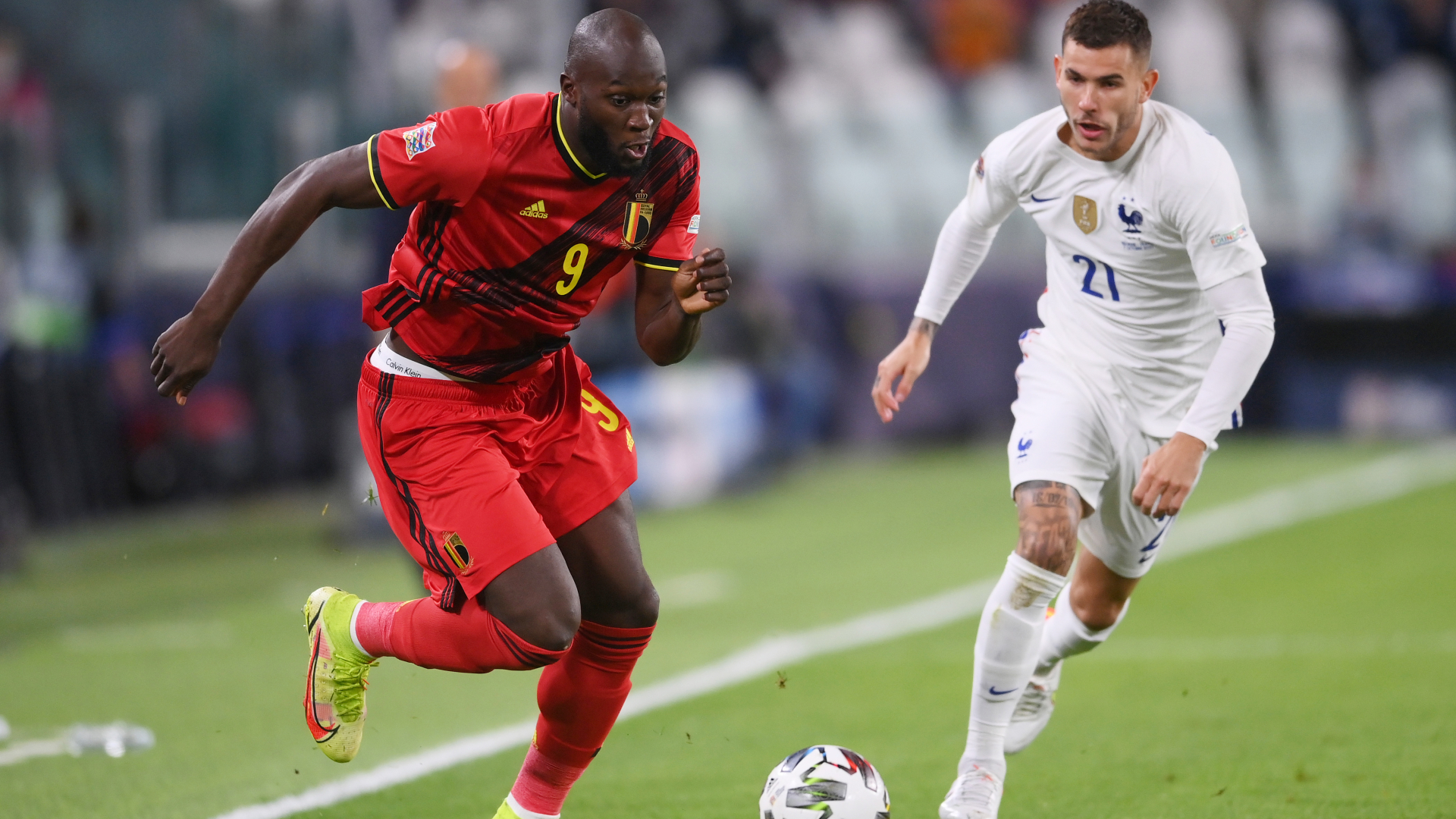 LIVE: Belgium vs France