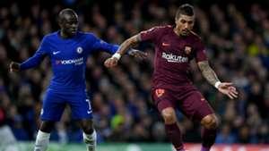 Kante Paulinho Chelsea Barcelona Champions League