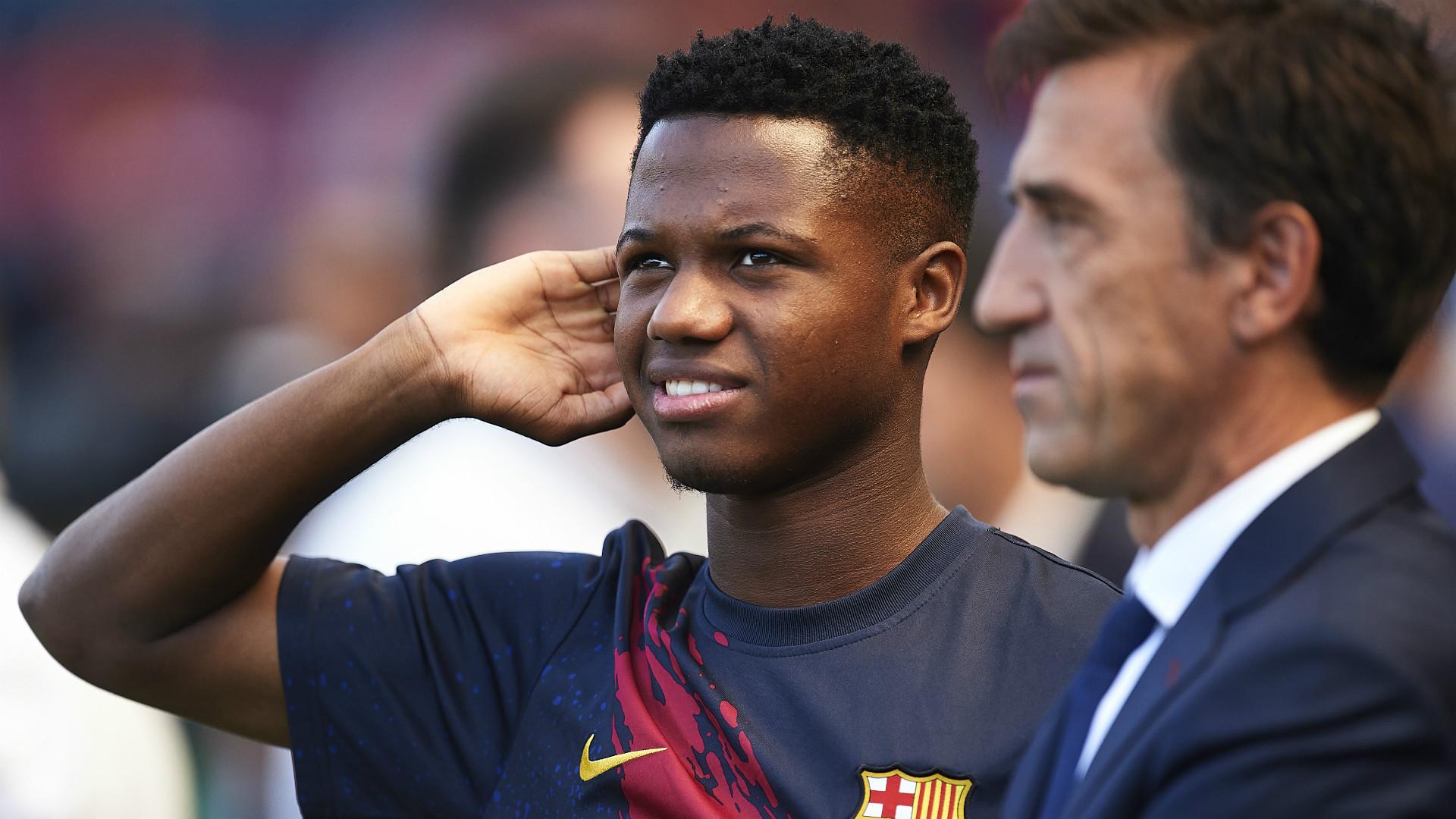 Fati receives a call for Spain U-21 national team