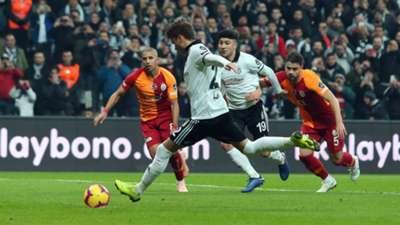 Besiktas Adem Ljajic penalty vs Galatasaray