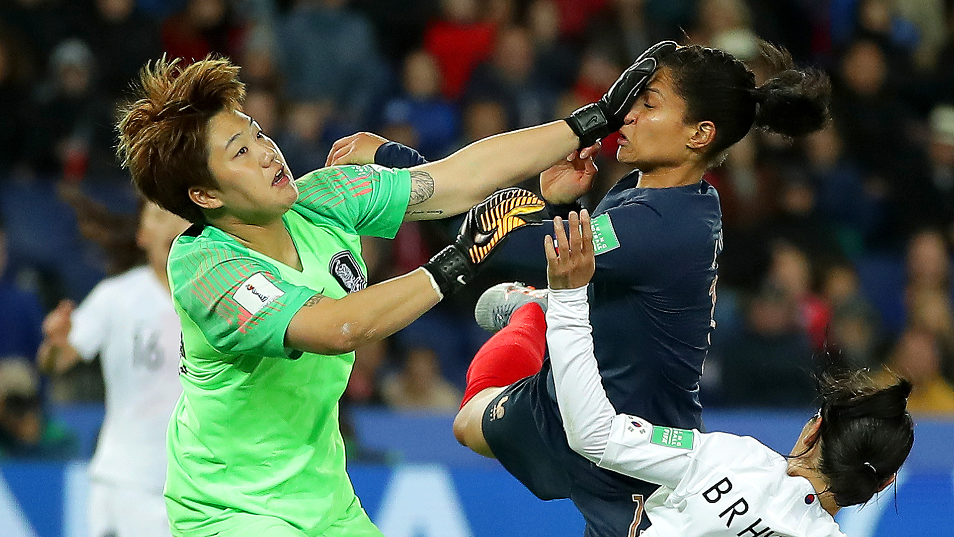 France South Korea Women's World Cup 070619