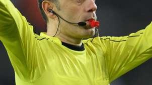 Referee blows