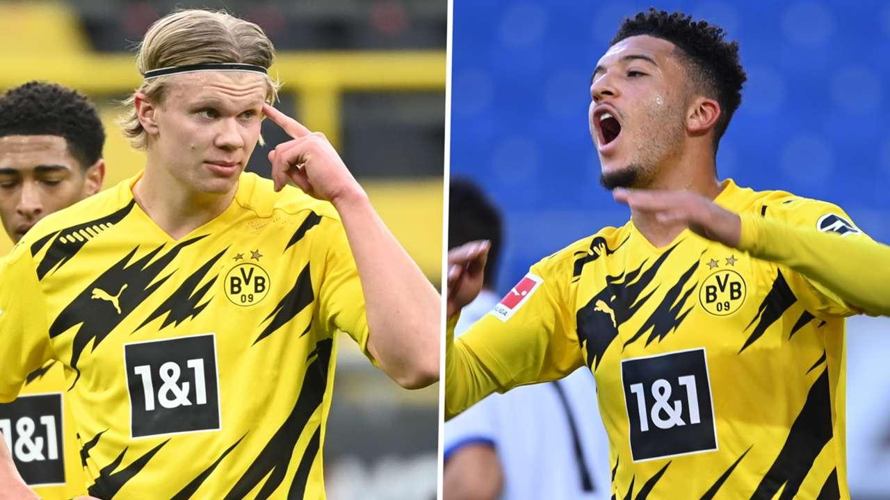 Haaland Sancho Borussia Dortmund GFX