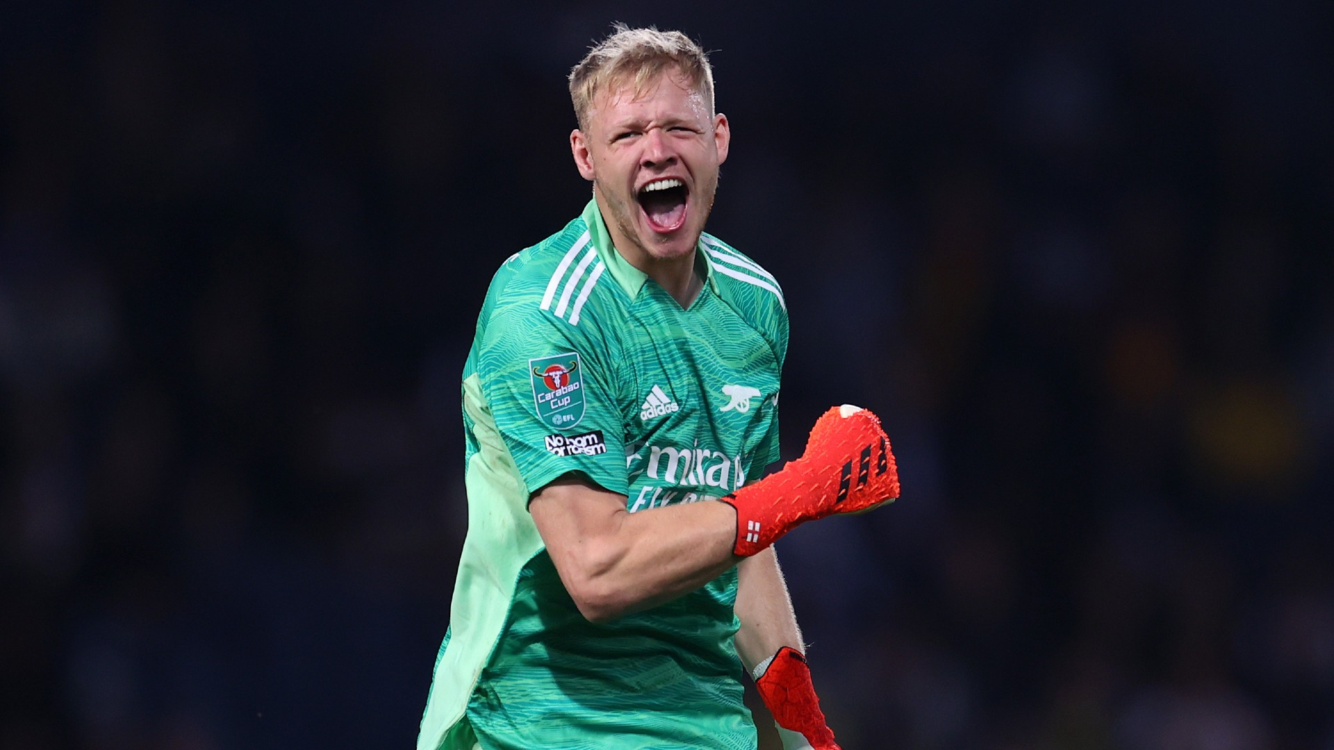Arsenal keeper Ramsdale aiming to be England No.1 at 2022 World Cup