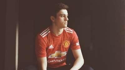 Daniel James Manchester United home kit 2020-21
