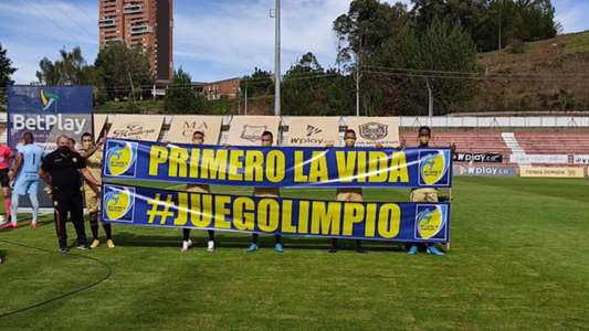 Colombian top-flight side Rionegro Aguilas forced to play with seven due to injuries and Covid-19 cases