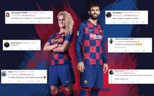 Quejas nueva camiseta Barcelona