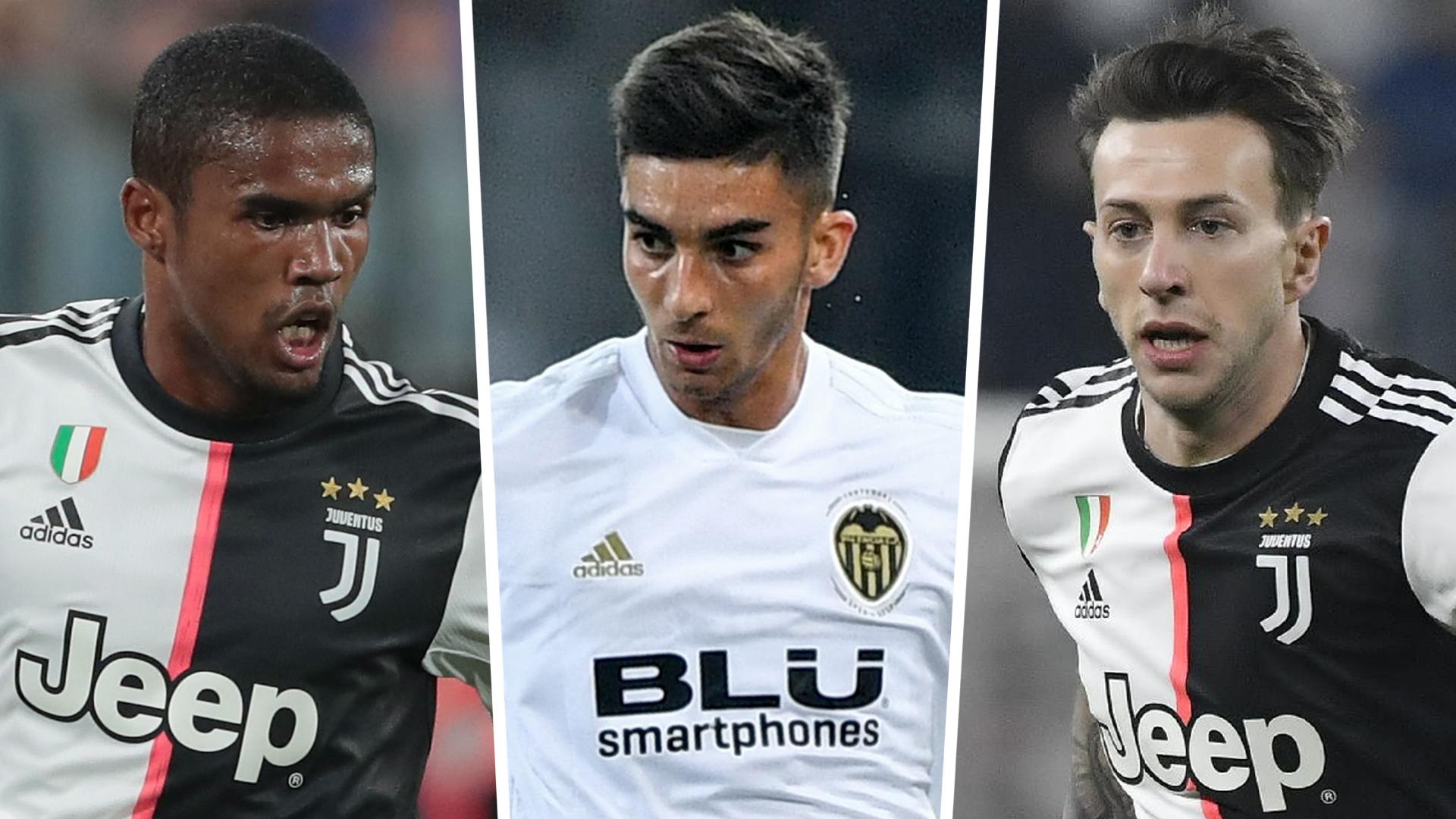 La Juventus envisage de vendre Douglas Costa et Bernardeschi